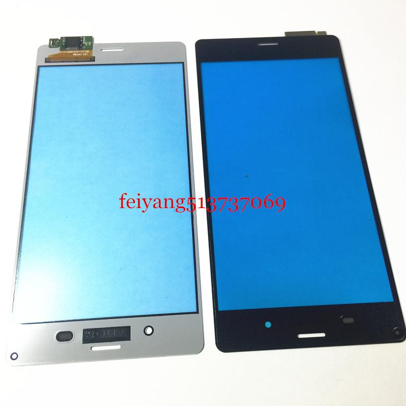 Original Black White Touch Screen Digitizer Lens Panel For Sony Xperia Z3 L55T D6603 D6643 D6653 D6616 Replacement Parts