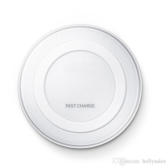 high quality Mobile phone qi wireless fast charger charging pad for Samsung Galaxy S6 edge G9200 G9250 iphone 5 6 6plus