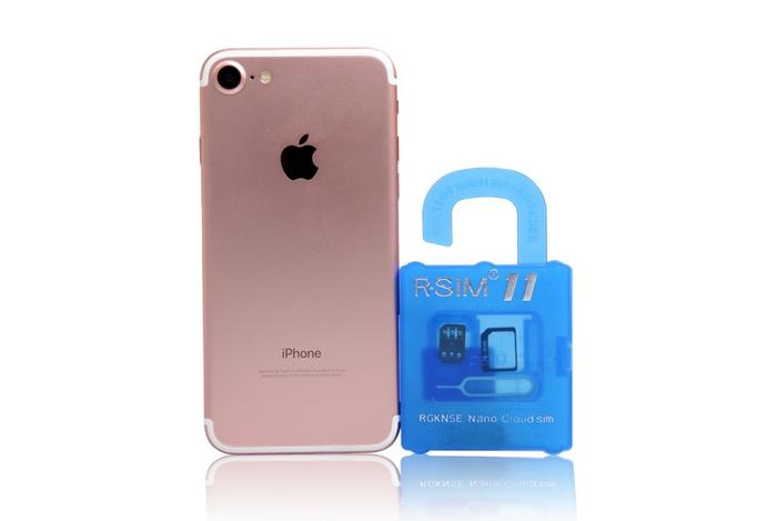 Original newly R SIM 11 RSIM11 r sim11 rsim 11 unlock card for iPhone 5 6 7 6plus iOS 7/8/9/10 ios7-10.x CDMA GSM/WCDMA SB SPRINT 3G