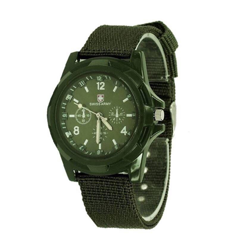 NEW Mens Military Sports Ways 스위스 제미우스 육군 시계 패션 시계 TRENDY 시계 아날로그 손목 시계 남성용 스위스 밀리터리 시계