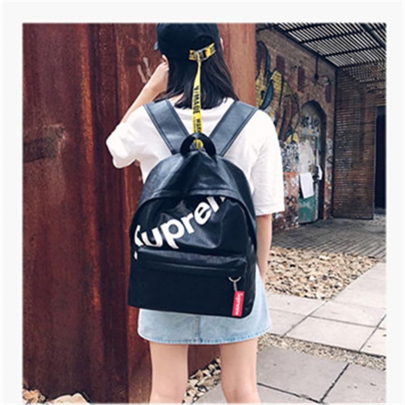 5d1986e91c New Student Backpacks For Teenage Girls Preppy Style Designer Bags Fashion  Junior High School PU Leather Brand Women Backpacks Bags Tactical Backpack  Ogio ...