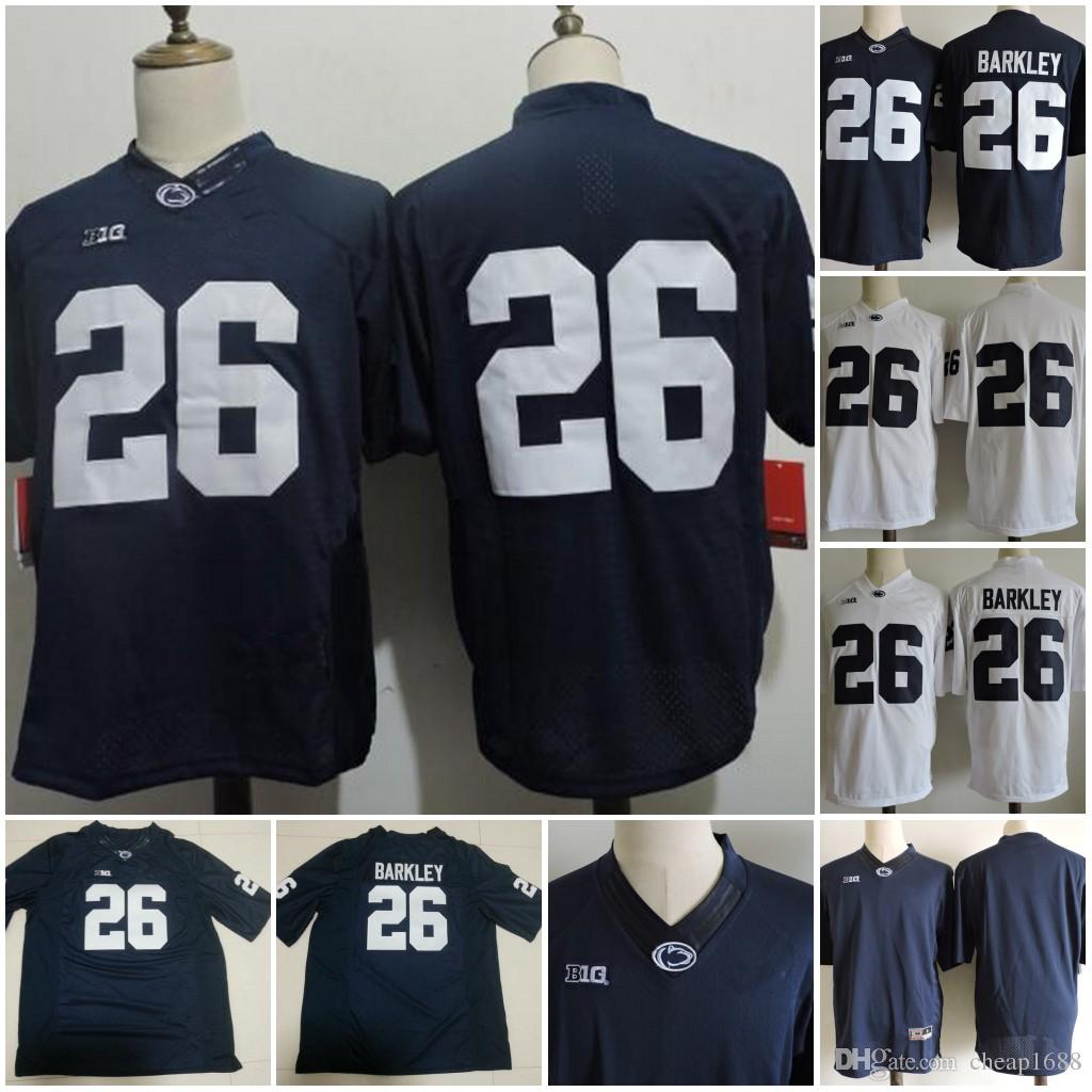 sports shoes 32773 df7ed ncaa jerseys penn state nittany lions 6 white college ...