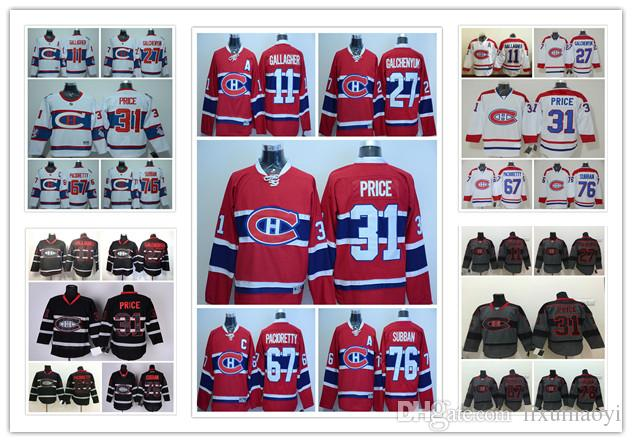 6882ab06e ... Price 27 Alexei Kovalev 67 2017 Montreal Canadiens Jerseys Ice Hockey  Winter Classic 11 Brendan Gallagher 27 Alex Galchenyuk 31 Carey ...