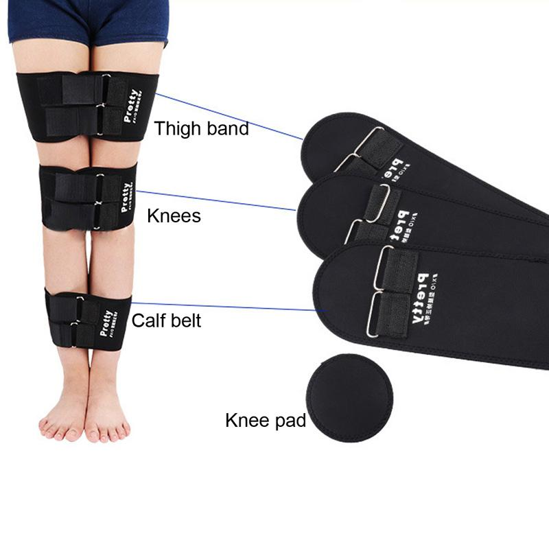 Black Adjustable O-type X-type Legs Corrector Correct Belt Legs Correction Belt 3pcs/set New Body Support Corrector for Legs 0613044