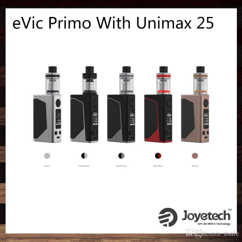 unimax. joyetech evic primo with unimax 25 kit 200w tc box mod exclusive tfta-tank structure atomizer 100% original