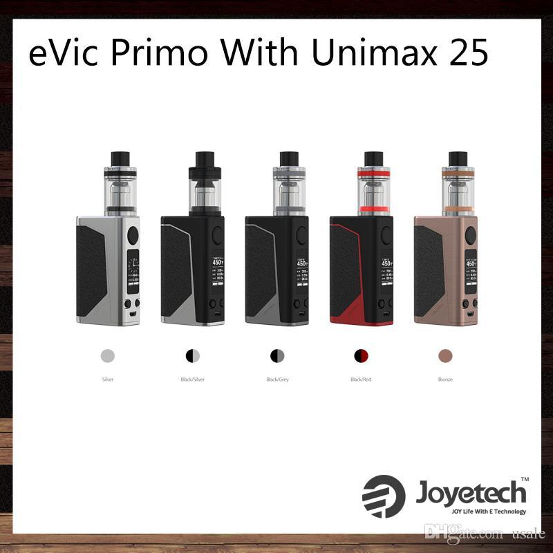 unimax. joyetech evic primo with unimax 25 kit 200w tc box mod exclusive tfta-tank structure atomizer 100% original