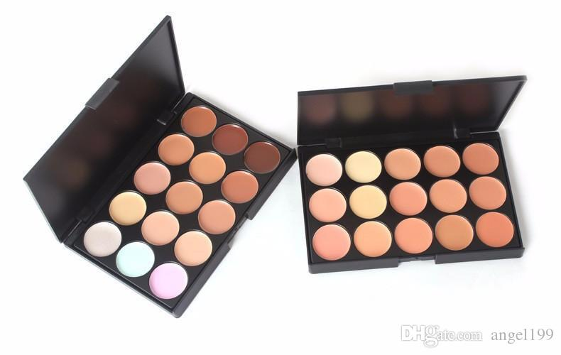 Factory Price Lady women 15 Colors Makeup Eyeshadow Camouflage Facial Concealer Palette Eye Shadow Professional DHL Free shipping
