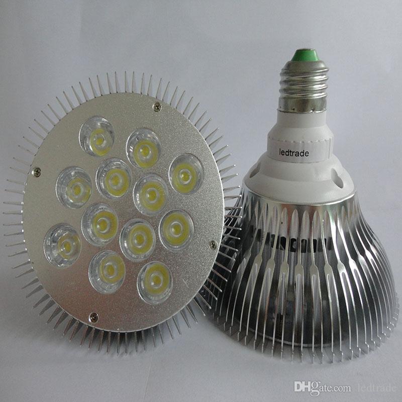 Top Cree Par38 Led Spotlight Lamp E27 E26 Screw Bulb 36w 12x3w Led ...