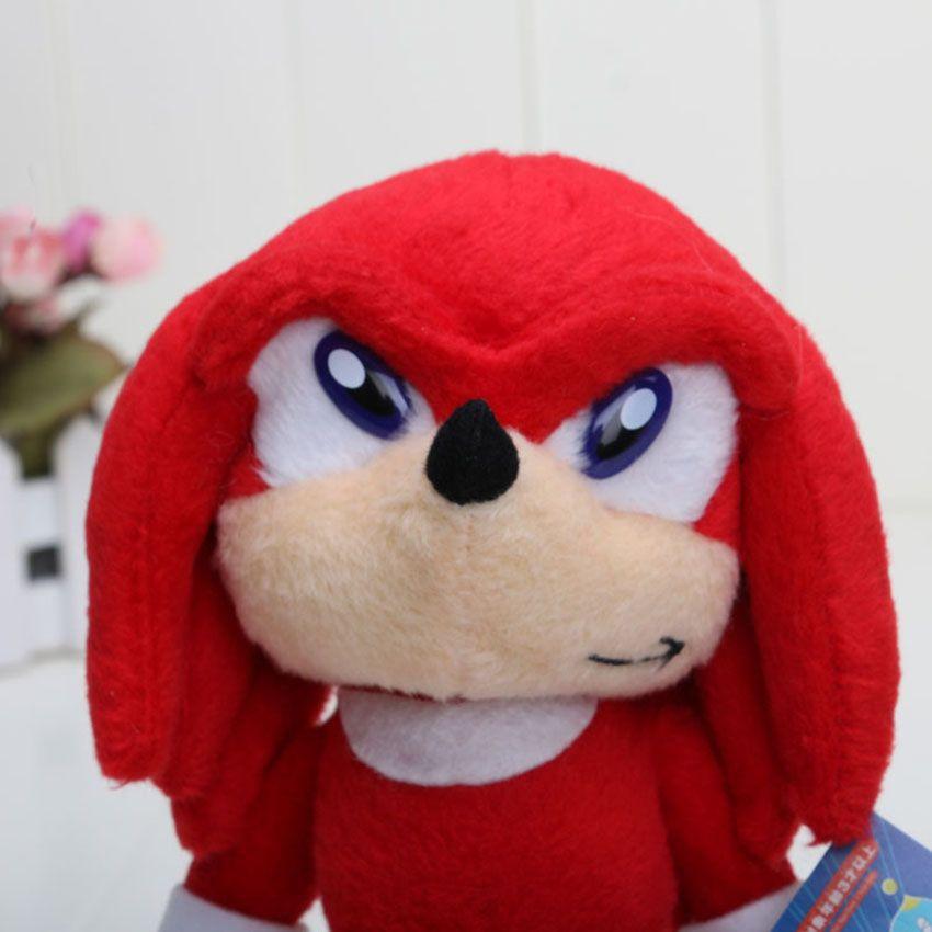 8'' EMS Wholesale Sonic The Hedgehog Plush toy Hedgehog stuffed Plush Dolls