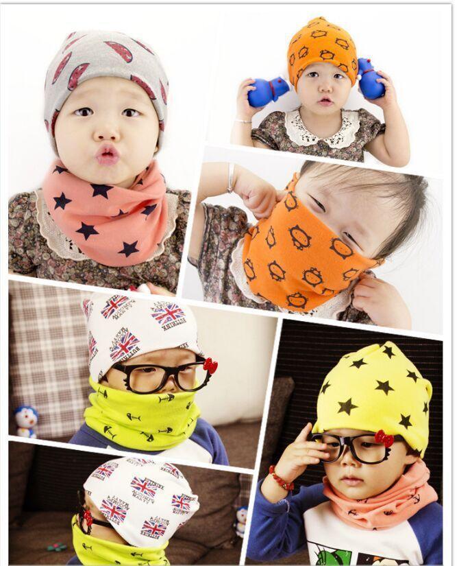 3faa689853fd Fashion 100%Cotton Baby Scarf Children O Ring Collars Kids Spring ...