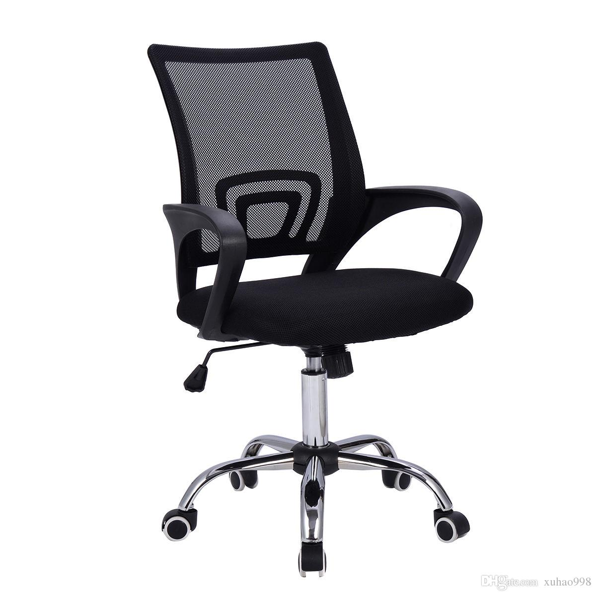 2018 Modern Mesh Mid Back Office Chair Computer Desk Task Ergonomic Swivel Black New From Xuhao998 42 22 Dhgate Com