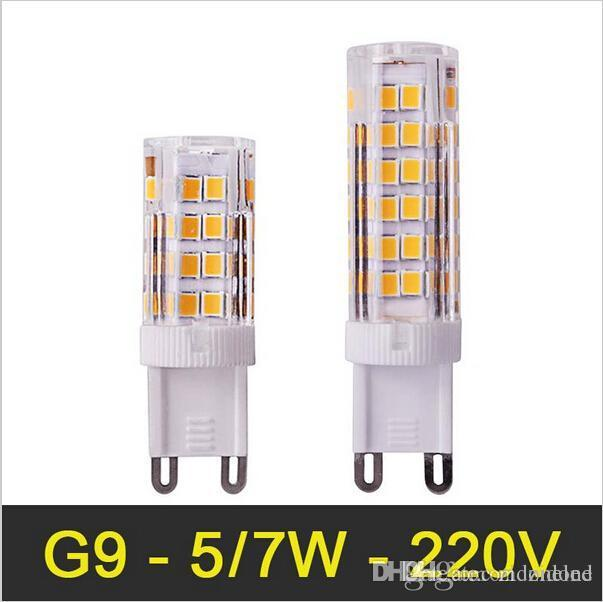 Best mini g9 led lamp 5w 7w smd2835 ac110 220v bombillas - Bombillas g9 led ...