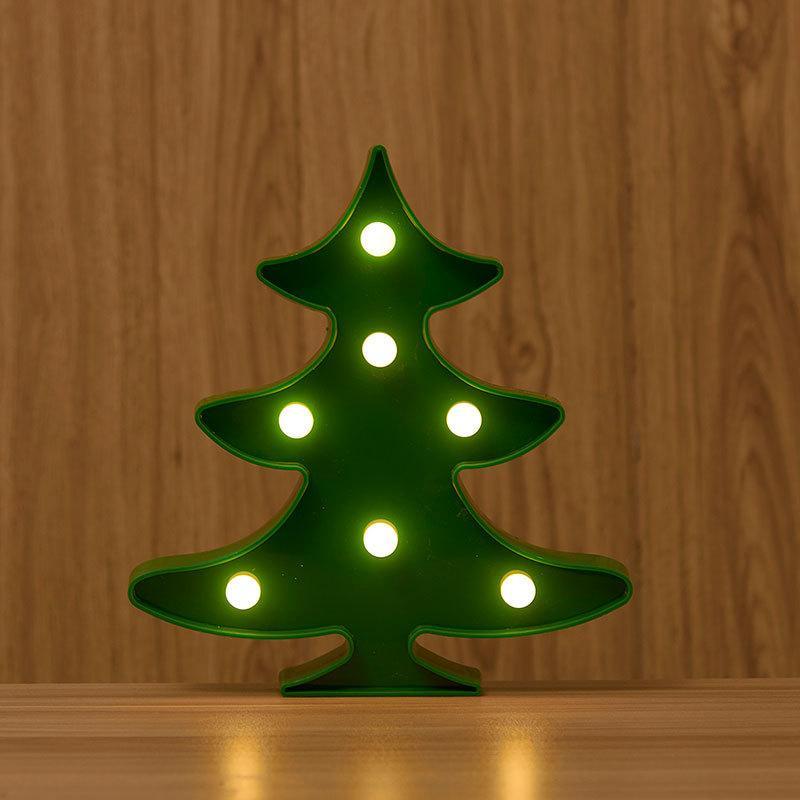 see larger image - Plastic Christmas Tree