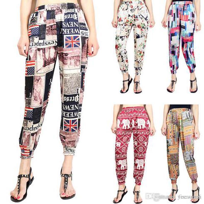 a8366625966 2019 Hot Sale Plus Size XL Women S Pants High Waist Harem Pants Capris 15  Styles From Fireworm