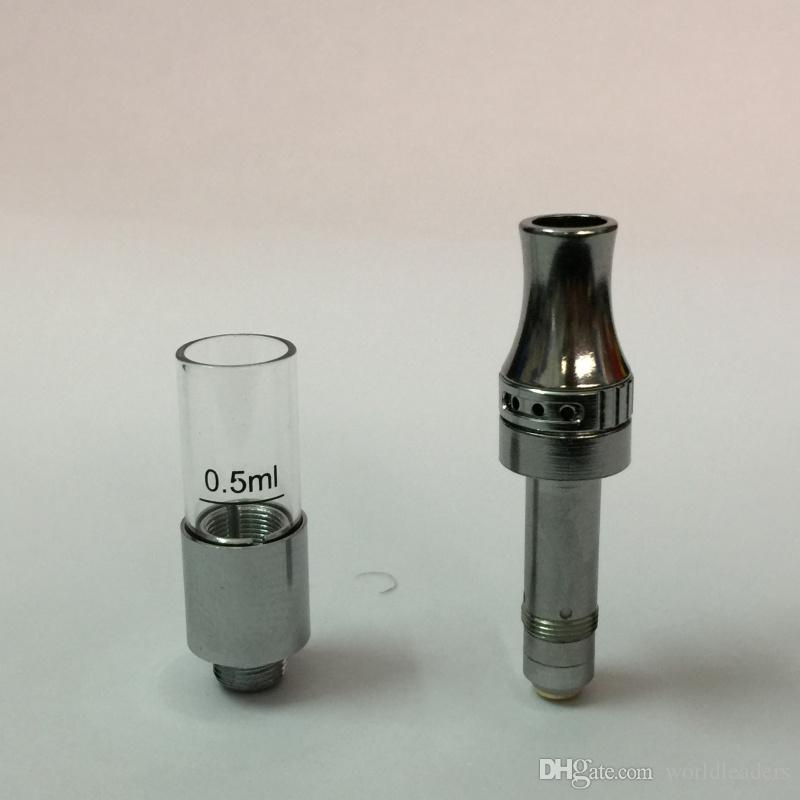 Autentico olio denso Bud touch Vaporizzatore e sigaretta Vape Penne 510 Amigo Liberty Serbatoio Atomizzatore cartuccia 0.5 ml DHL LIBERA il trasporto