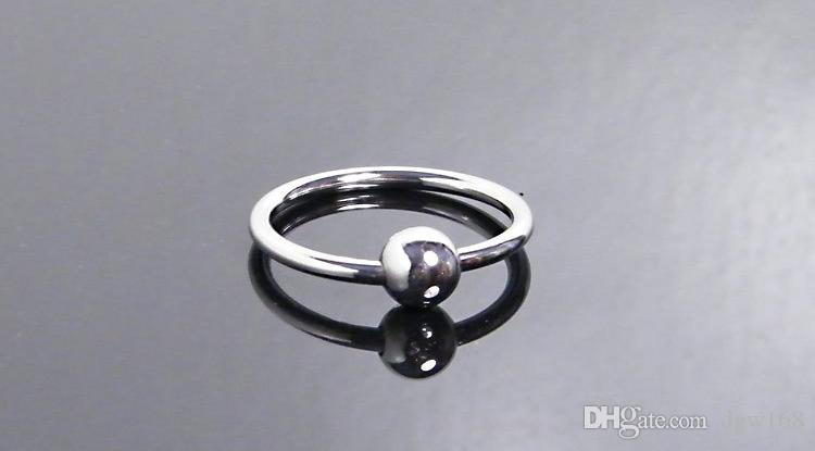 32mm paslanmaz çelik penis halka boncuk metal cock ring erkek gecikme boşalma erkekler için seks yüzük seks ürünleri penis seks oyuncakları