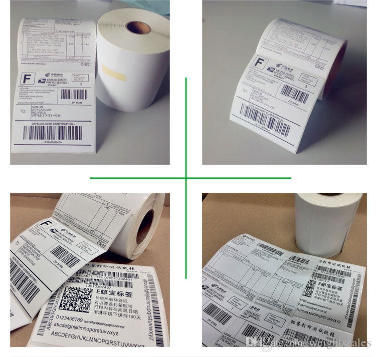 4x6 DYMO Masaüstü Doğrudan Termal Etiketler 500 etiket of rulo hiçbir kurdela Gerekli 100x150mm x500 Nakliye Etiketleri EUB USPS
