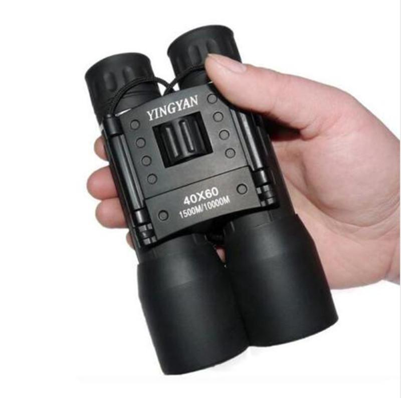 Gafas de campo con zoom binocular de 40x60, excelentes telescopios portátiles de alta definición de gran alcance