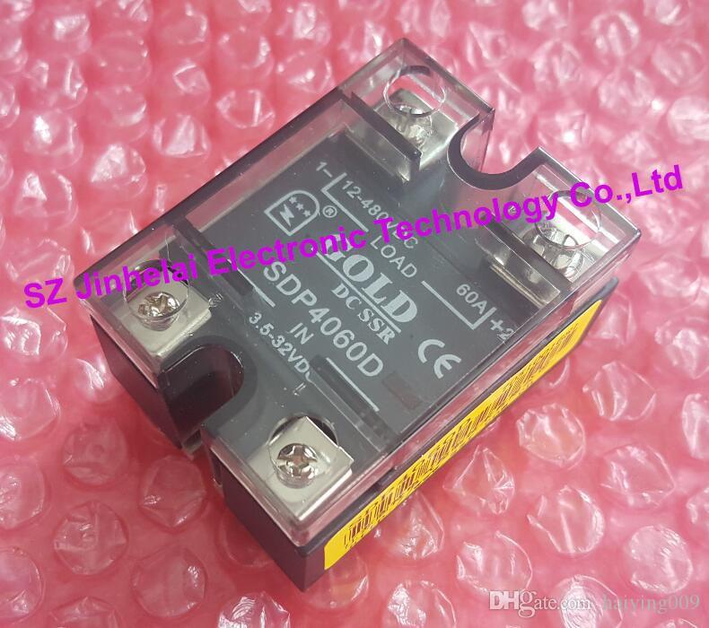 SDP4060D جديدة ومبتكرة GOLD DC-DC تتابع الحالة الصلبة DC SSR 3.5-32VDC ، 12-480VDC 60A