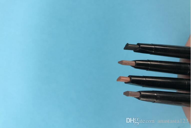 ماكياج مزدوج قلم الحواجب الحاجب قلم رصاص كريون إبوني / بني ناعم / بني داكن / بني متوسط / الشوكولاته dhl شحن مجاني