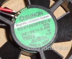SUNON KDE1203PFB2-8 3010 3CM 12V 0.8W 2 선 냉각 팬
