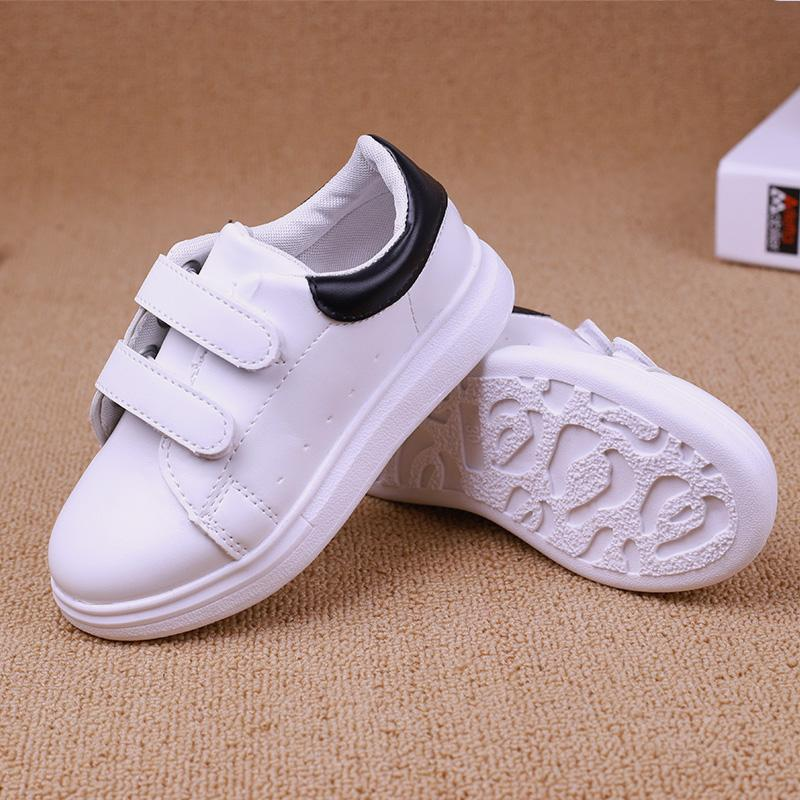 5f9c6c828a5c1 Rushed High Quality Hot Sale Common Projects Shoes Girl Boys Spring White  Casual Hook Loop Baby Fashion Children Kids Sport Pu Leather Shoes On Sale  For ...
