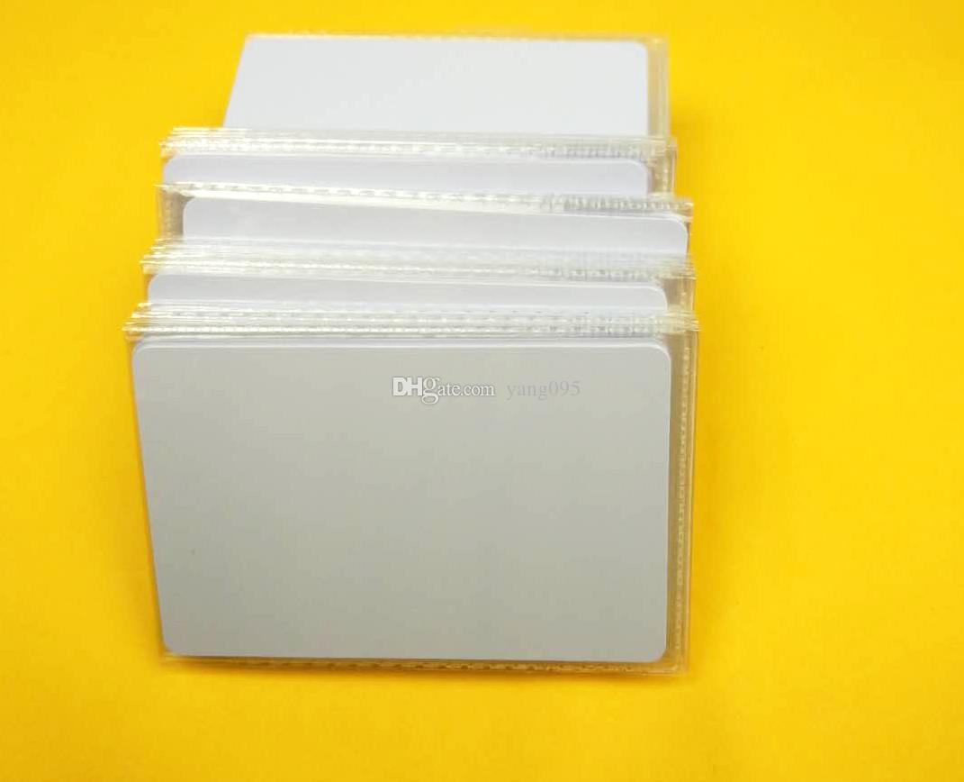 Back To Search Resultsoffice & School Supplies Low Frequency Plastic Blank 125khz Tk4100 Blank Chip Card