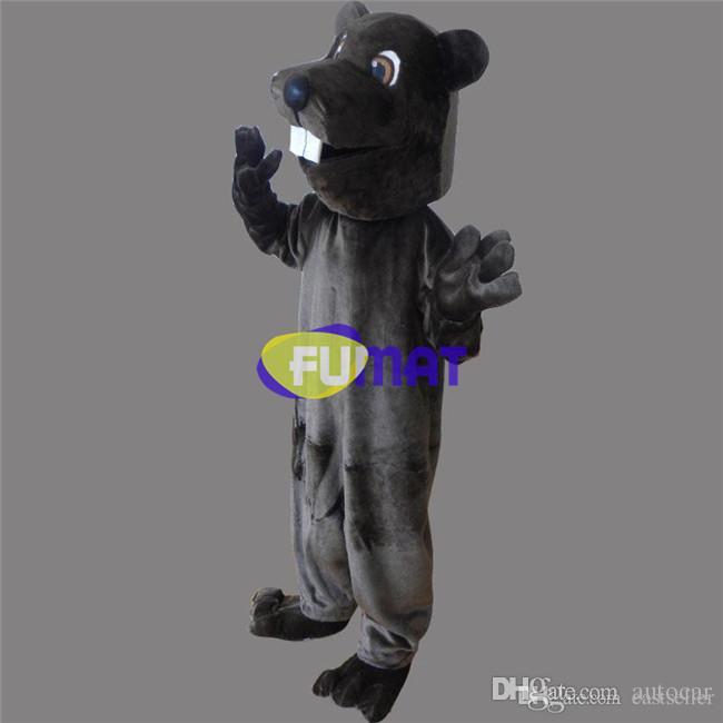 FUMAT Costume De Caractère De Dessin Animé De Hamster Adulte Taille Animal Souris Mascotte Costumes Fête D'anniversaire Fantaisie Robe De Soirée Adulte Image Personnalisation