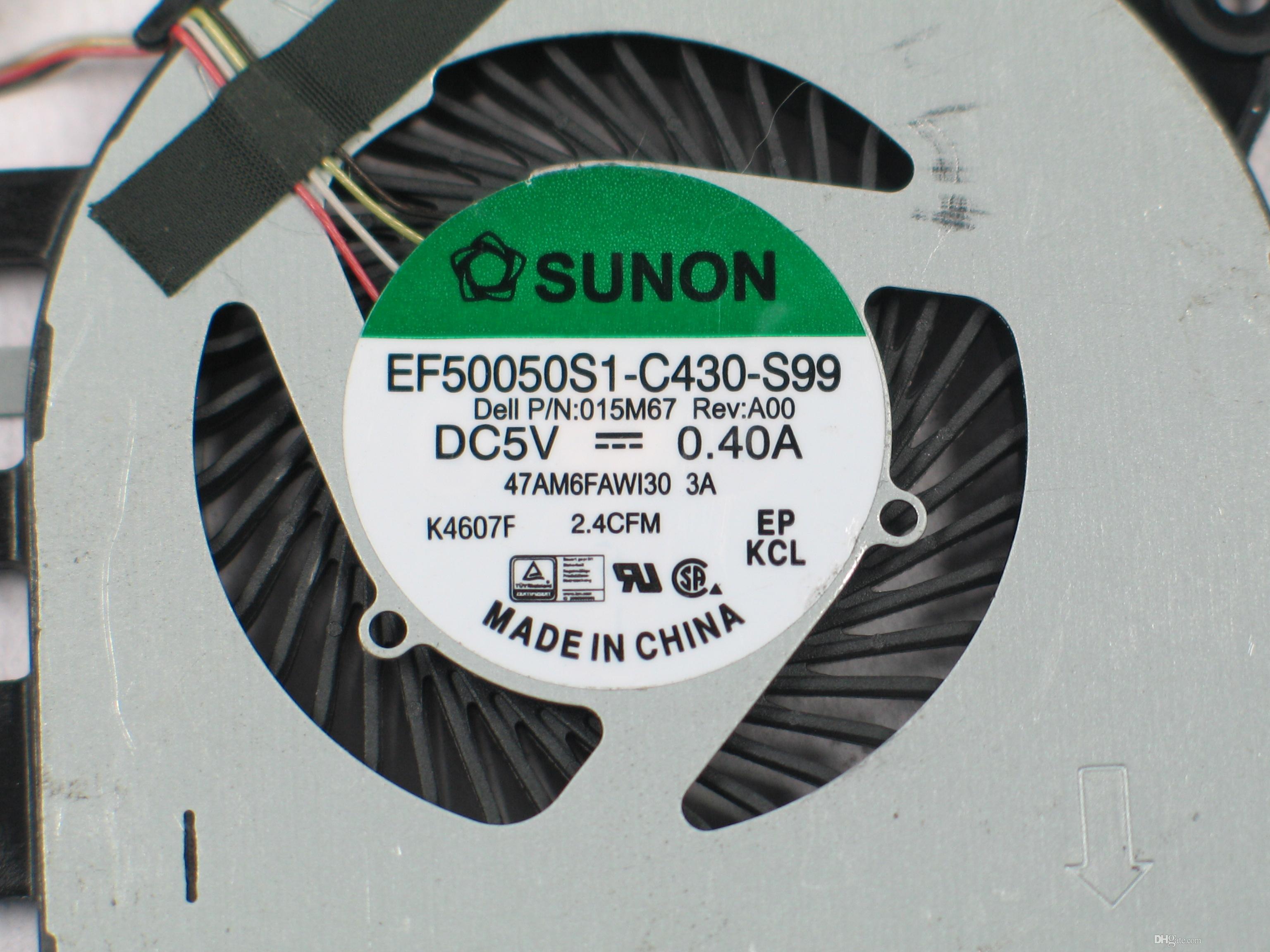SUNON EF50050S1-C430-S99 DC 5 V 0.40A 4 fios conector de 4 pinos 60mm Servidor CPU ventilador de refrigeração