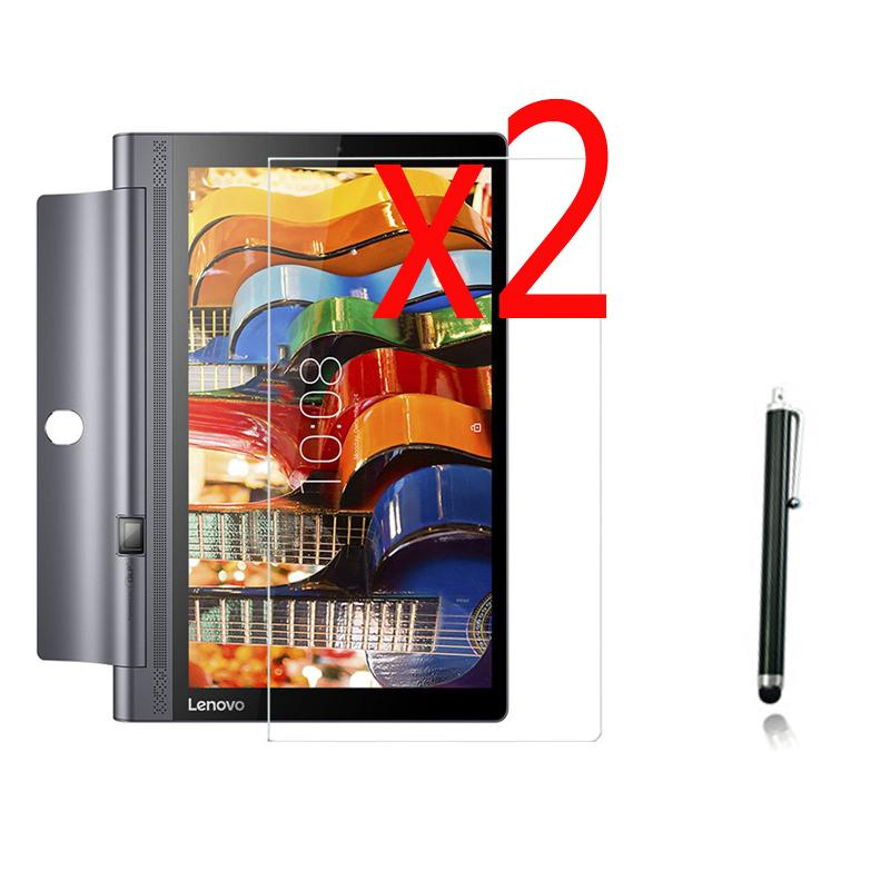 Wholesale- 2x films +2x cloth +1x Stylus , Matted Matte Screen Protector  Protective Film Guards For Lenovo YOGA Tab 3 10 YT3-X50F X50L X50M