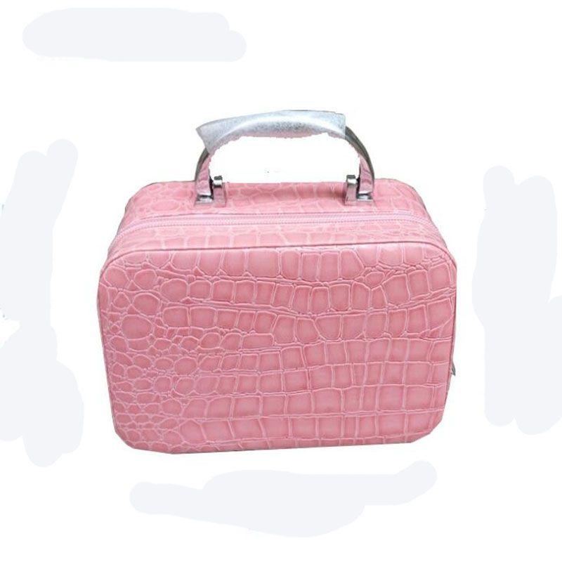 Fashion Make-Up-Boxen Kosmetiktasche Eintritt Paket Schmuck Fällen Halskette Aufbewahrungsbox Korean Kosmetik Tasche Handtasche Travel Train Fällen