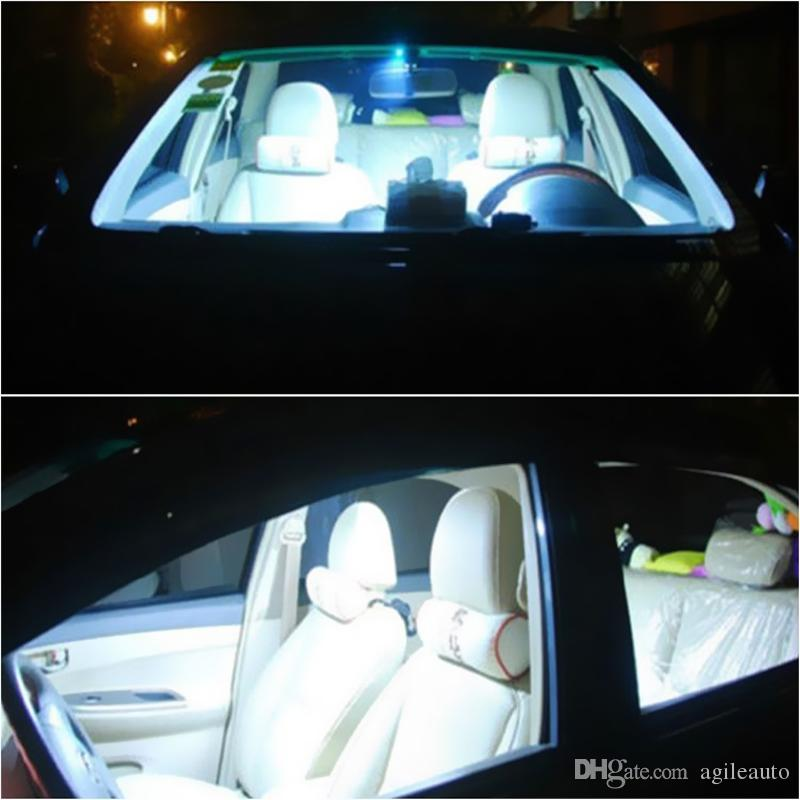 2 ADET Süper Beyaz Renk 31mm 12-SMD 12 V COB LED Araç İç Dome Harita Ampuller DE3175 CLT_04K
