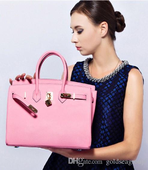 Beutelschultergroßverkaufhandtaschenfrauen 40cm Tote Dame neu kommen Geldbeutel an IT BRITISCHE Frankreich CA Brieftasche Togo Epsom echtes Ledertasche Paris US