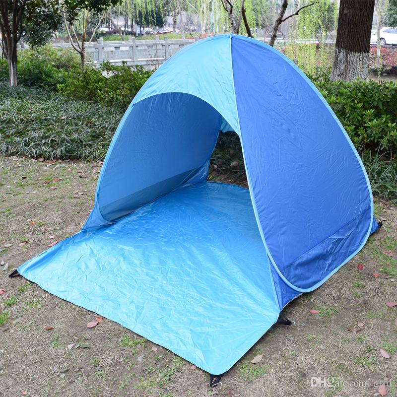 Summer Tents Quick Automatic Opening 50+ Uv Protection Outdoor Gear C&ing Shelters Tent Beach Travel Lawn Multicolor Dropshipping Wenzel Tents Tent City ... & Summer Tents Quick Automatic Opening 50+ Uv Protection Outdoor ...