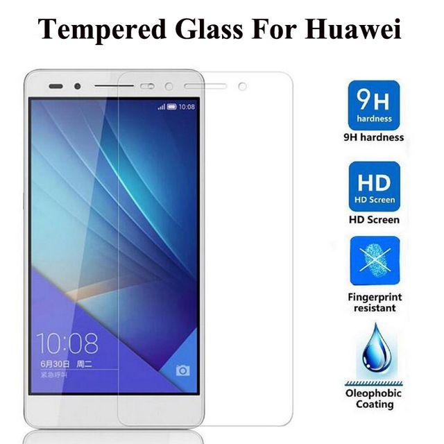 0.3mm premium de vidro temperado para huawei honor 3c / 3x / 4 / 4c / 4a / 4x / 4xmini / 6/6 plus / 7 filme protetor de tela 200 pçs / lote frete grátis