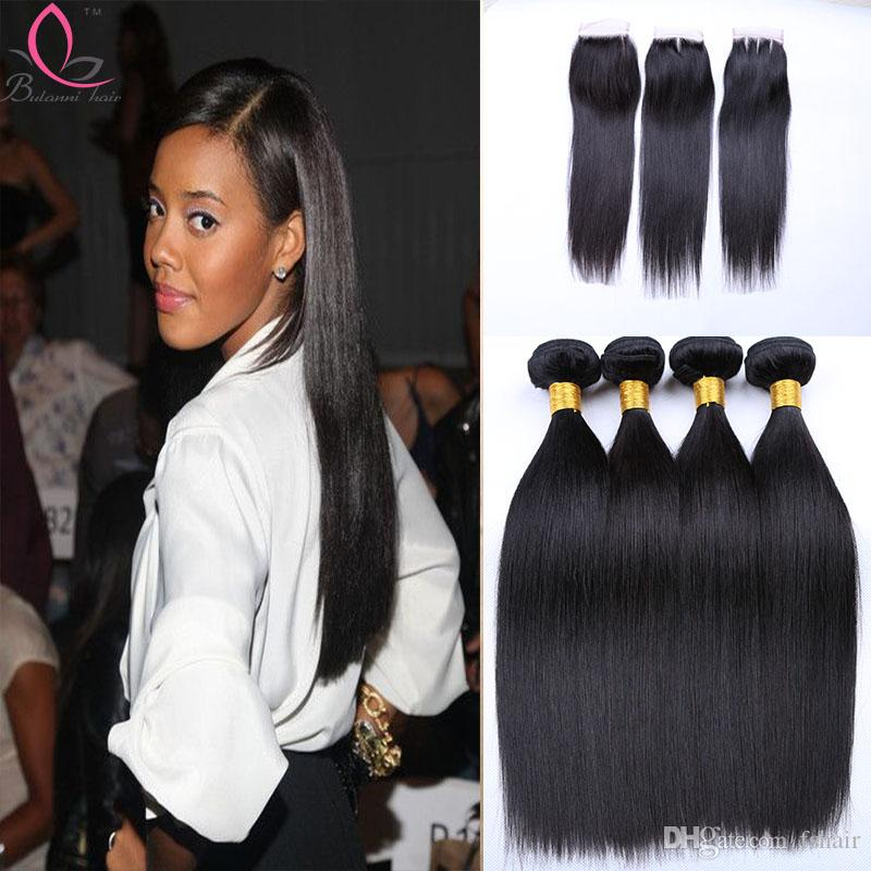 2018 indian straight human hair weaves extensions 4 bundles with 2018 indian straight human hair weaves extensions 4 bundles with closure free middle 3 part double weft dyeable bleachable 100g pc from fshair pmusecretfo Gallery