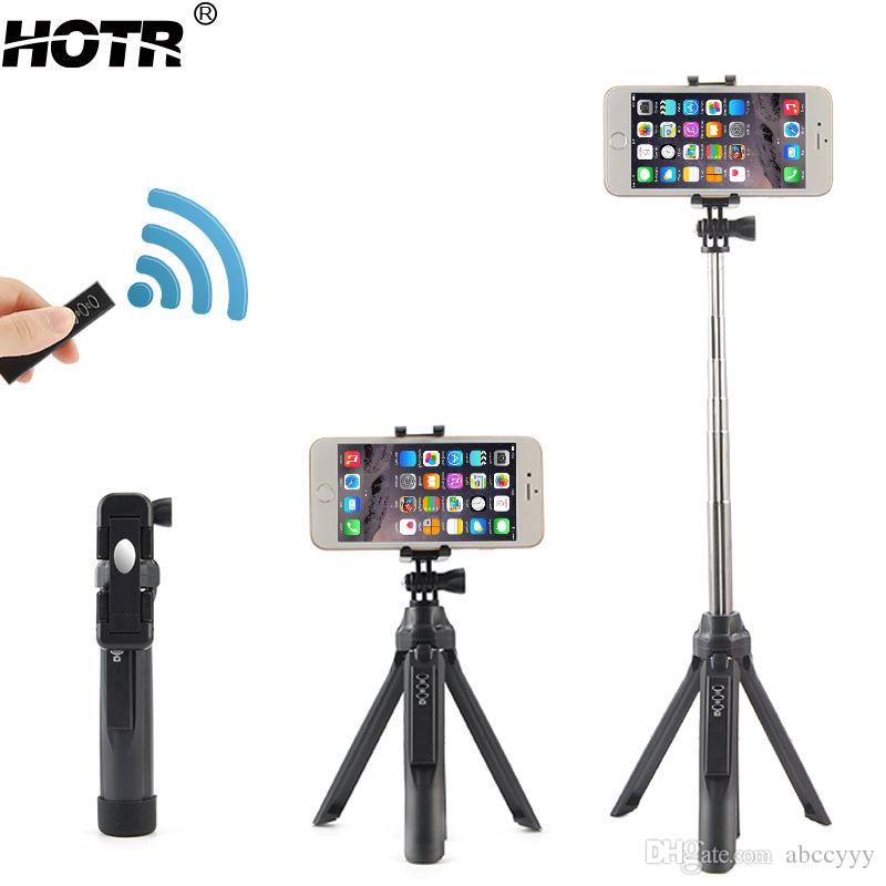 2018 bluetooth selfie stick tripod all in one wireless para selfie android ios self timer stand. Black Bedroom Furniture Sets. Home Design Ideas