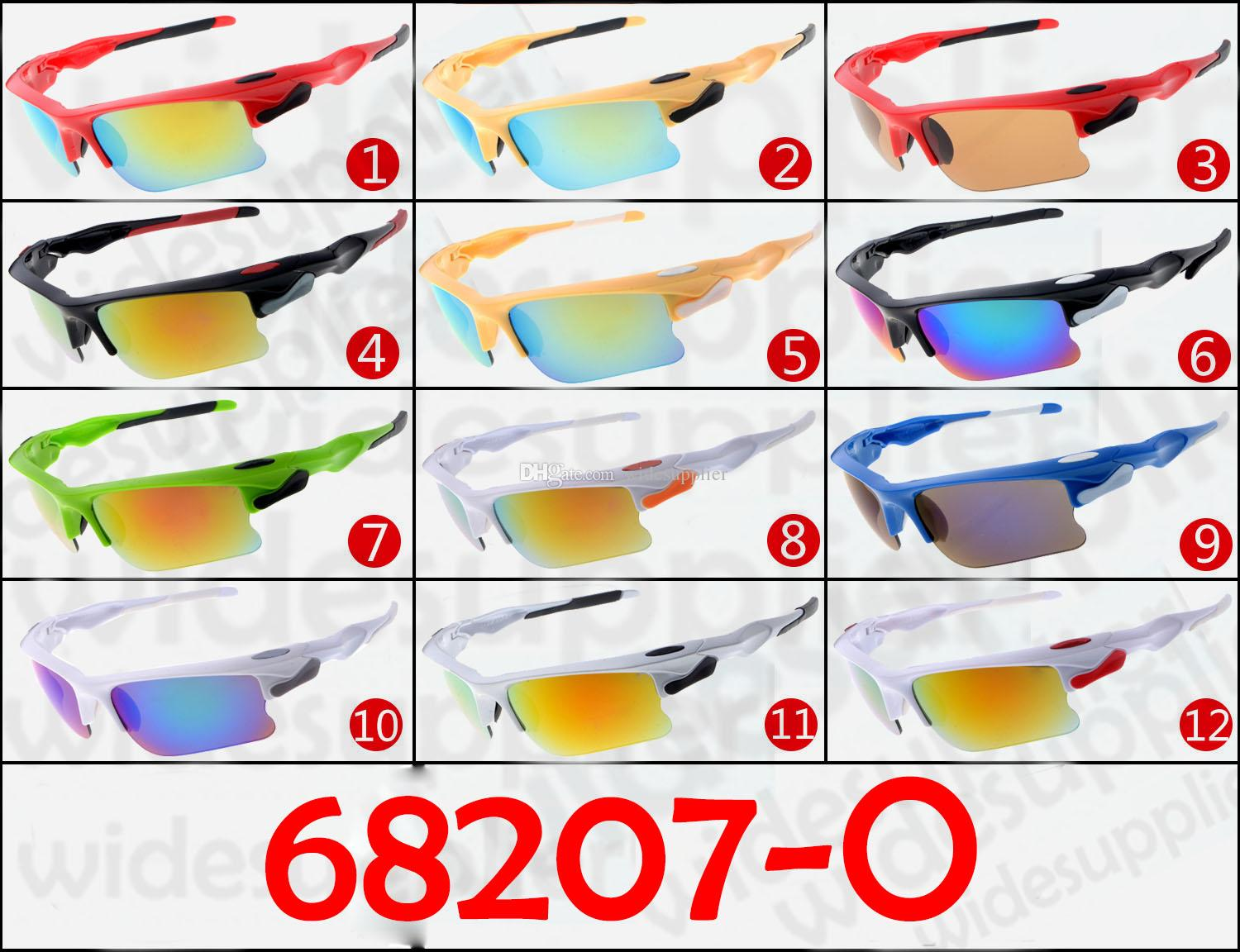 2017 Popular Sunglasses Cool Brand New Designer Sunglasses for Men and Women Outdoor Sport Cycling SUN Glass Eyewear 12 colors Factory Price