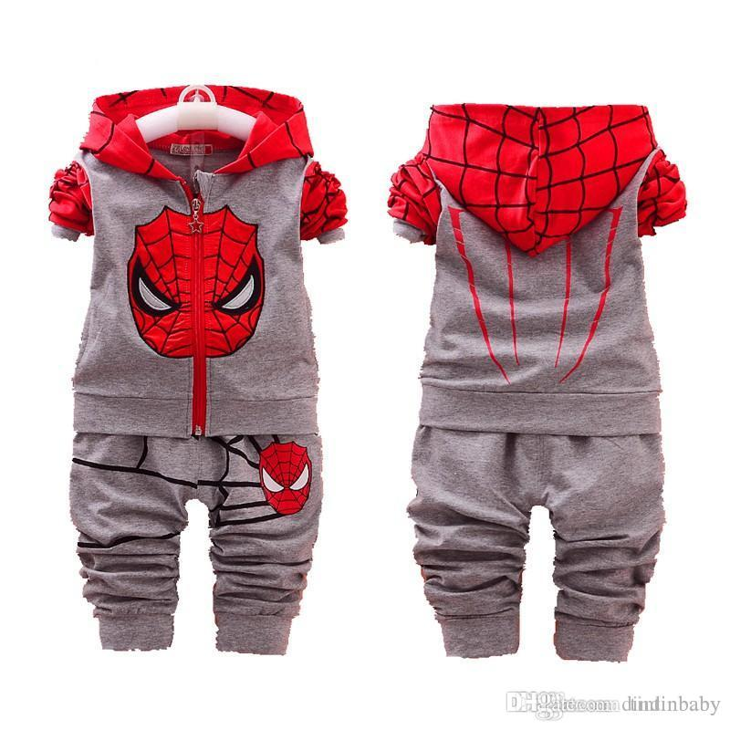 a49053cbc Baby Casual Suit Children Spring Autumn Tracksuit Boys Girls Long ...
