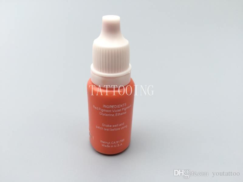 i trucco permanente micro pigmenti inchiostro tatuaggio kit cosmetico tatuaggio sopracciglio labbra rosso scuro