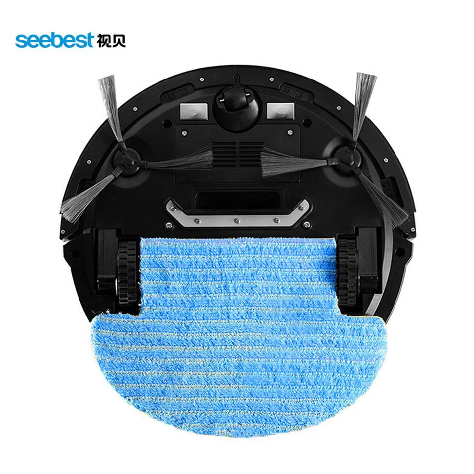 Seebest D730 Чистый Робот Аспиратор с Wet / Dry Швабра Резервуар для воды и времени Расписание автоматического пополнения смарт-очиститель Seebest D730 МОМО 2.0