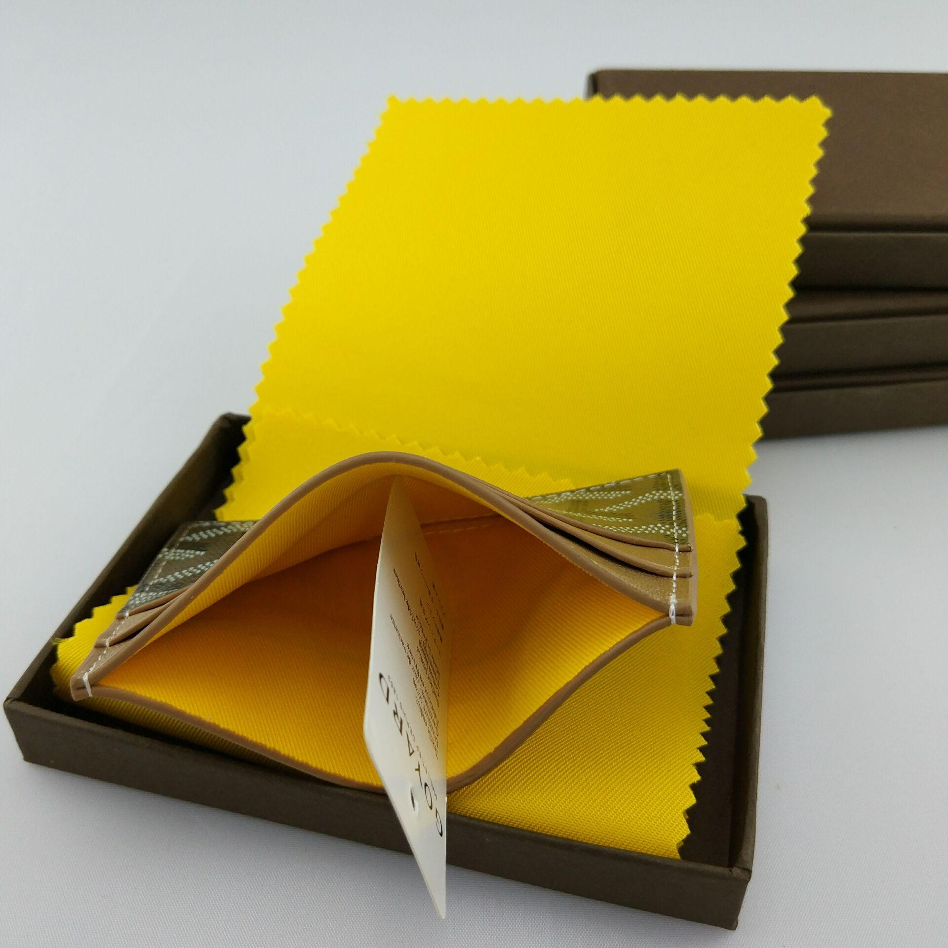 Commercio all'ingrosso Classic Design Casual carta di credito in pelle set carta pacchetto marea francese Carta ID Holder Ultra Slim Wallet Packet gy Bag con scatola