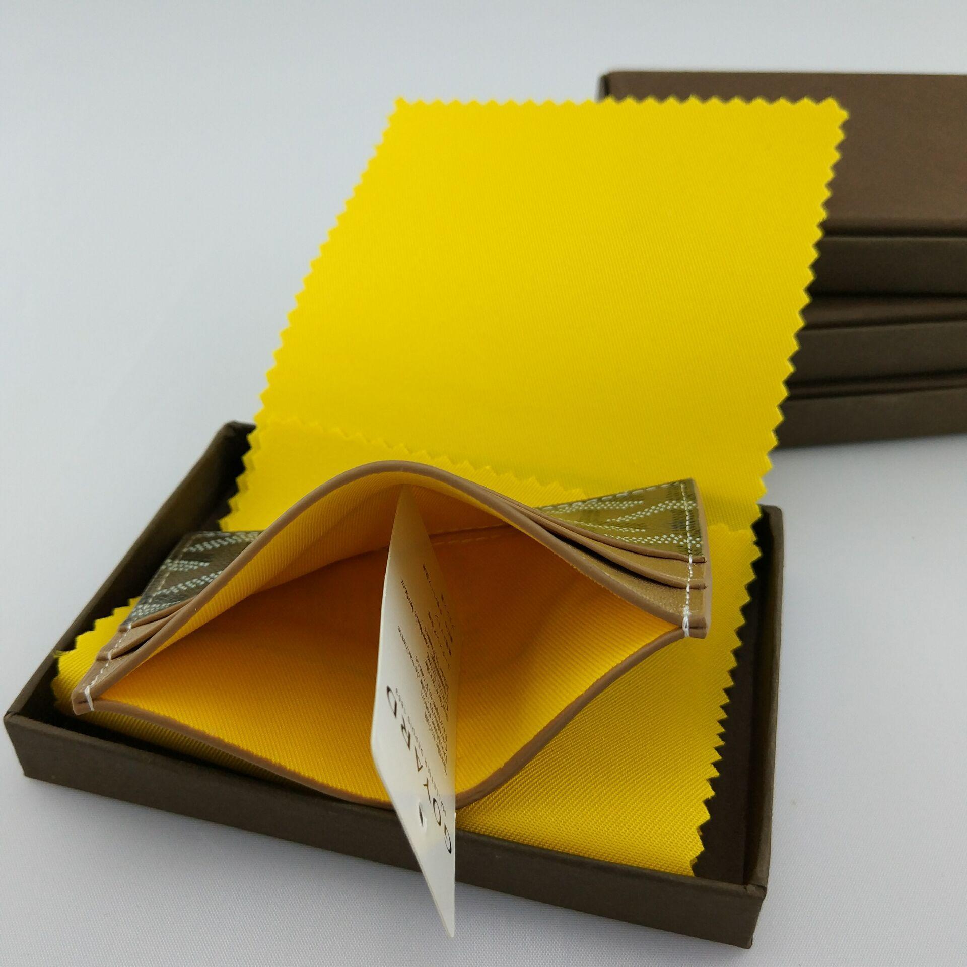 vente en gros classique design casual en cuir carte set carte paquet français marée titulaire de la carte d'identité ultra mince portefeuille portefeuille gy sac avec boîte
