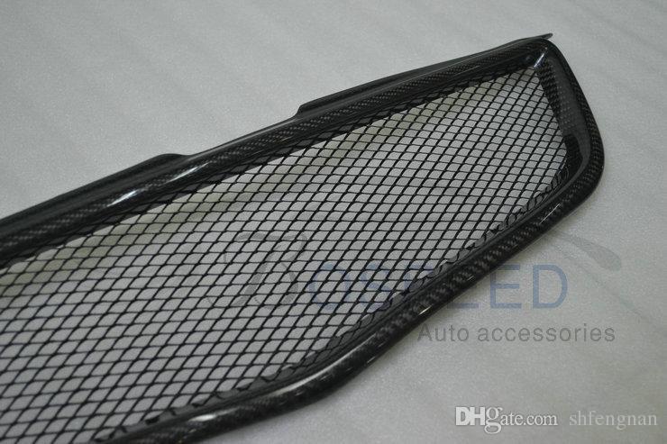 Fit pour gril de voiture en fibre de carbone TOYOTA Vios haute qualité