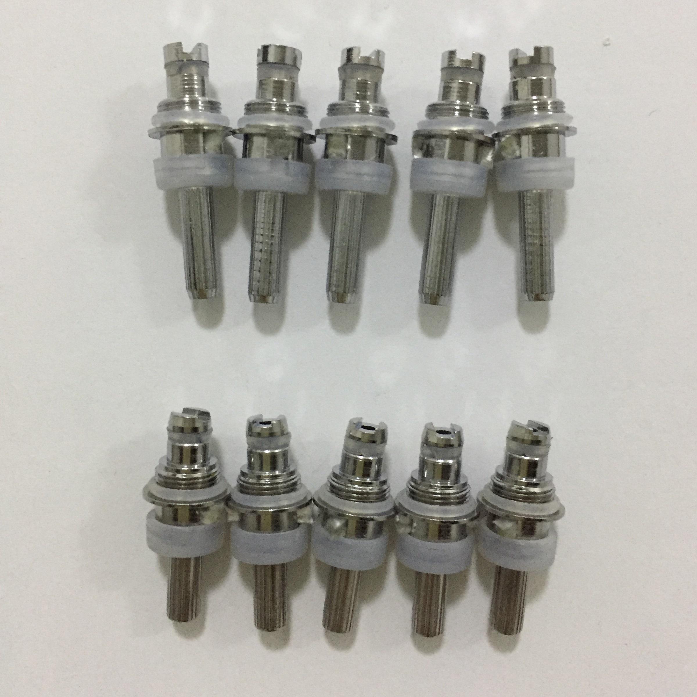 البخاخة الساخنة استبدال لفائف ل MT3 H2 T3S T4 بروتان 1 2 مصغرة Protank Cartomizer Clearomizer استبدال كور رئيس bestvaporseller epacket