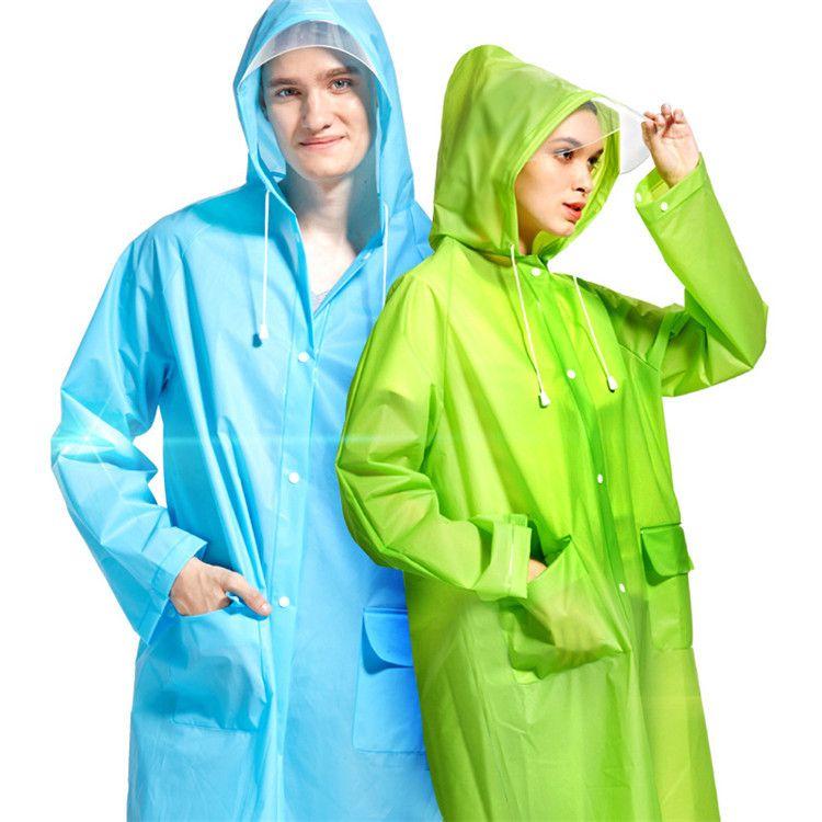 New candy color Rain Coat men women Raincoat Rainwear Waterproof poncho multi color Raincoat fashion raincoats IA026