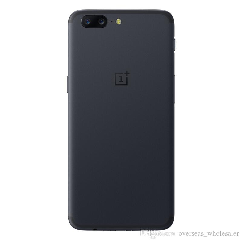 Original Oneplus 5 4G FDD LTE Mobile Phone Snapdragon 835 Octa Core 6GB RAM 64GB ROM Android 7.0 5.5 inch 20.0MP NFC Fingerprint Cell Phone