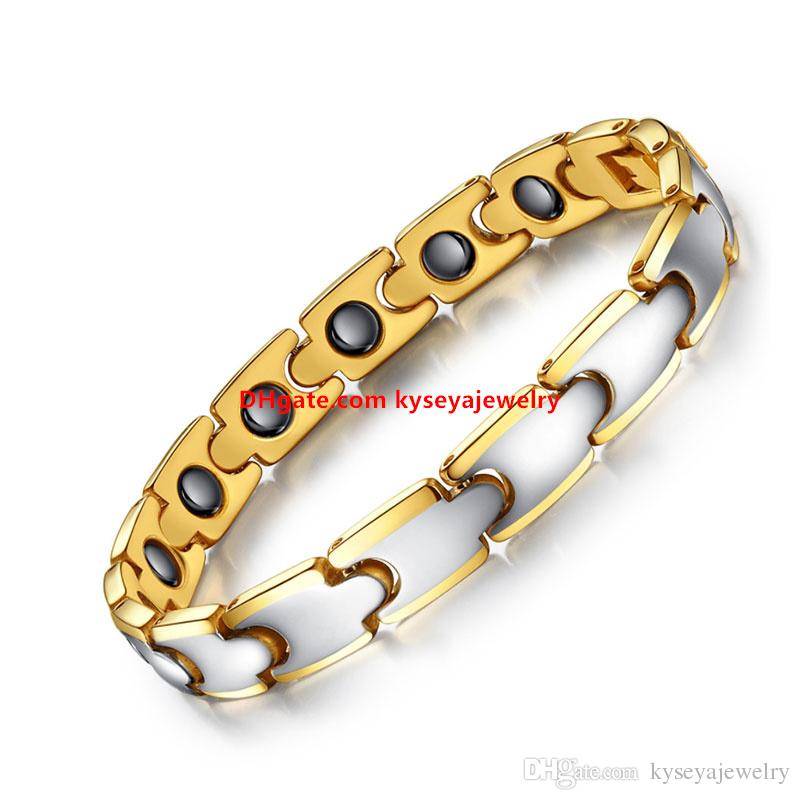 2017 Hot Fashion Tungsten Bracelet Men, Cool Mens & Boys Health Care Magnet Bangles and Bracelets for Women Bracelet Men Gift