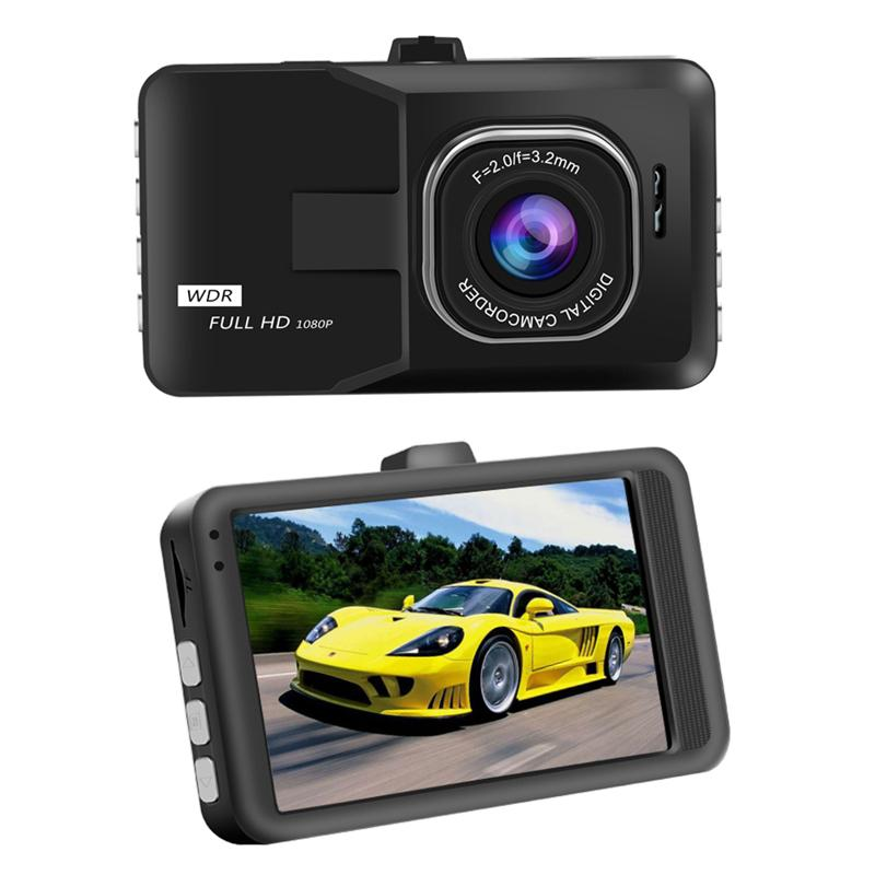 Hot Sale 3 Inch Car DVR HD Black Box Traveling Driving Data portable Recorder Camcorder Vehicle Camera Night Version Camcorder