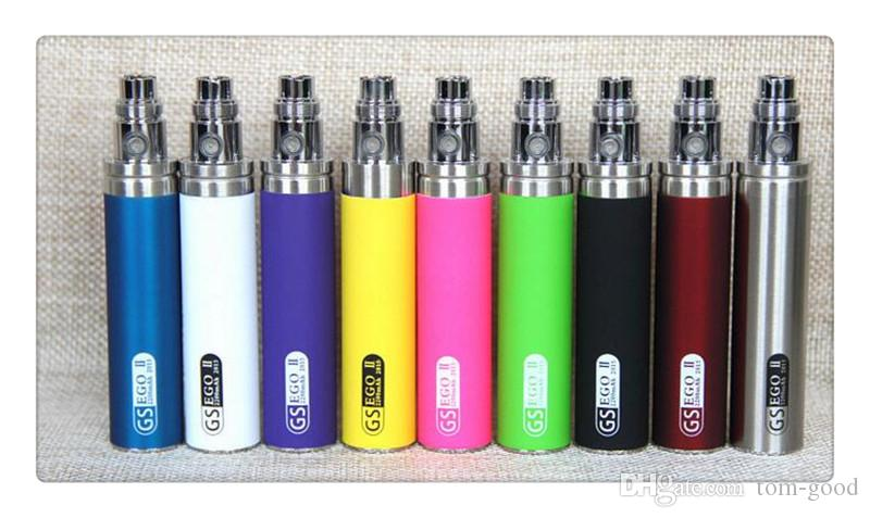 Hot sale eGo Orginal GS eGo II Battery 2200mah E Cigarettes Updated EGO Battery For 510 CE4 MT3 Atomizer ecig Battery